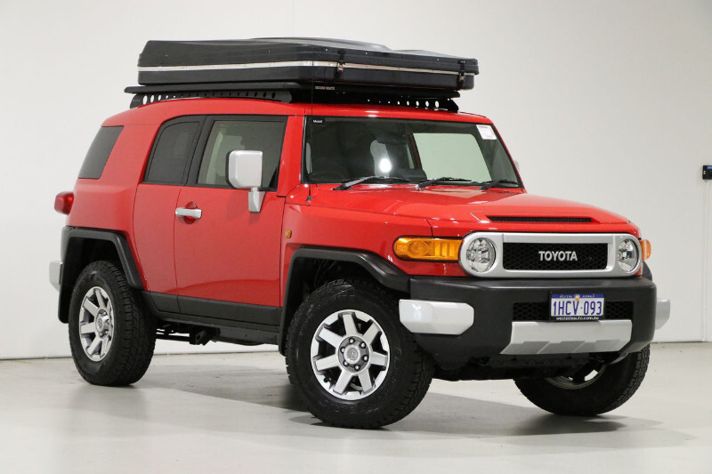 FJ Cruiser packed with features