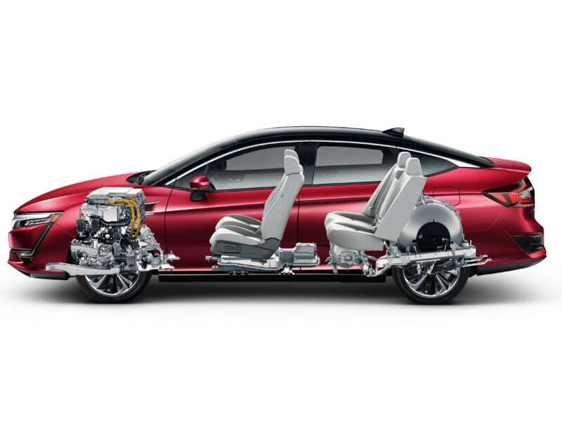 Hybrid Car Fuel Cell Transparency
