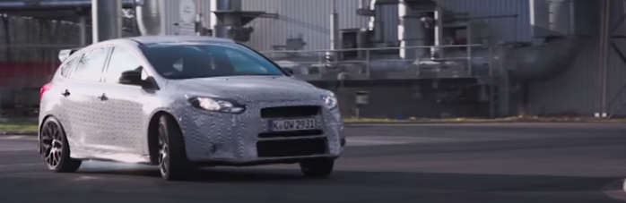 Ford Focus Rd Test Driven By Ken Block